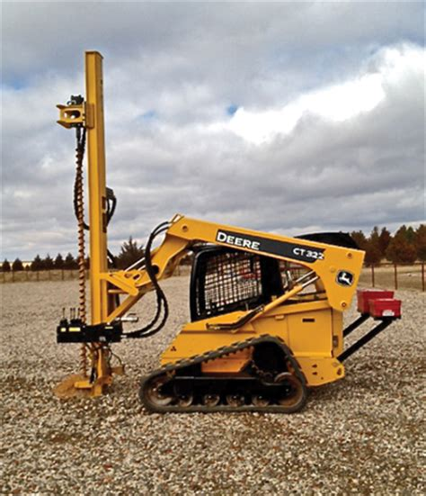 cost effective drilling mast attachments | compact equipment