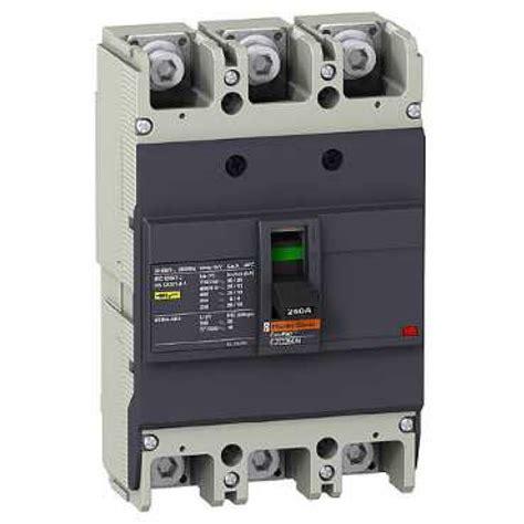 Mccb Schneider Easypact Ezc100n 3p 15a Ezc100n3015 ezc250n3250 schneider electric