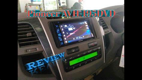 Pioneer Avh 195dvd Din Avh 195dvd review unit din pioneer avh 195dvd