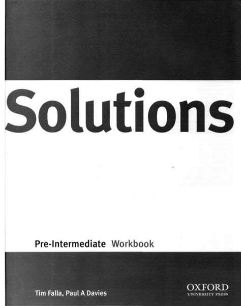 libro solutions pre intermediate workbook cd solutions pre intermediate wb