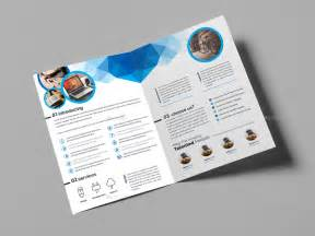 Bifold Brochure Template by 21 Beautiful Exles Of Bi Fold Brochures To Inspire You