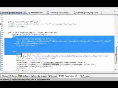 tutorial java ireport tutorial jasperreport ireport postgres java zk