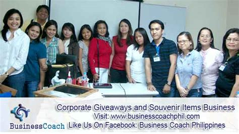 Seminar Giveaways - starting a corporate giveaways and souvenir items business