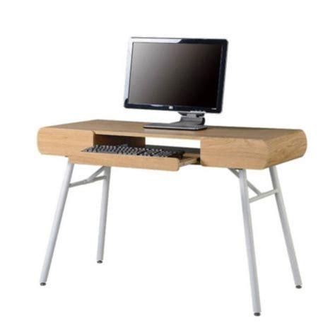 slim computer desk 48 quot modern slim computer desk by techni mobili