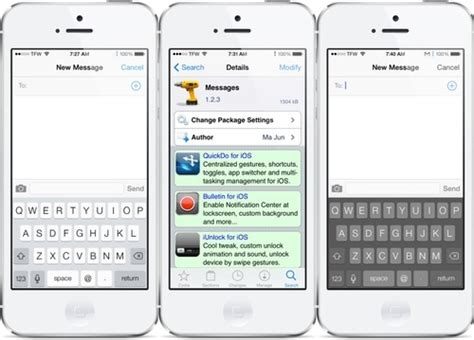 themes for iphone text messages messages tweak updated for ios 7 iphone ipad ipod