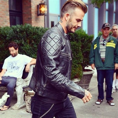 David Beckham So Damn by David Beckham Is Trying To Kill Us All With This Belstaff