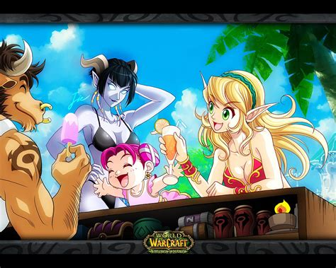 Anime World by Anime World Of Warcraft Wallpapers