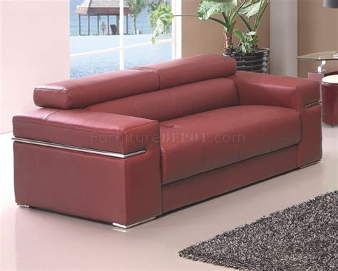 maroon sofa maroon sofa sierra maroon sofa in bonded leather by