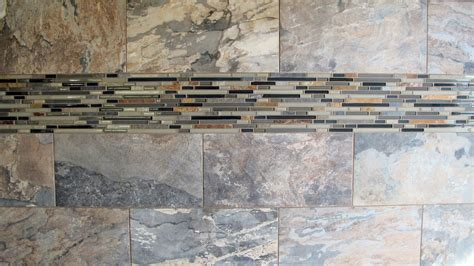 Porcelain Tile Backsplash Kitchen by Large Custom Home With Porcelain Tile And Natural Stone
