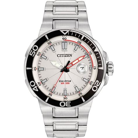 citizen s steel endeavor eco drive sport aw1420