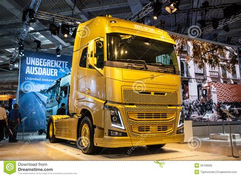 volvo fh  hp truck editorial image image  lorry