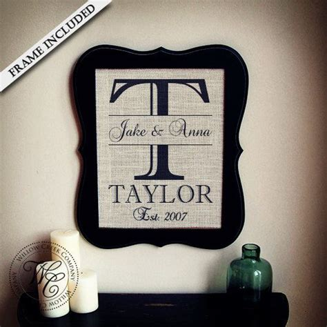 Wedding Gift Names by Wedding Gift Monogrammed Gifts Personalized Wedding Gift