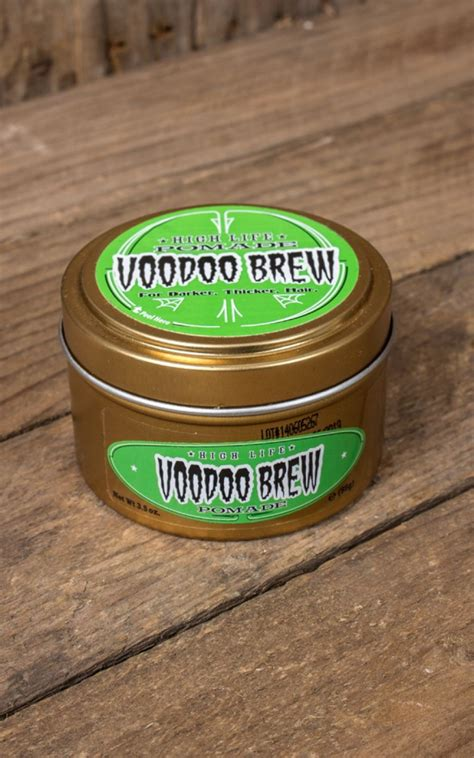 Pomade Voodo Brew pomade high voodoo brew by high dax