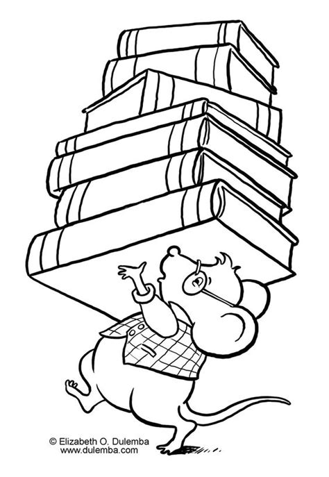 coloring page reading book library coloring pages for kids more pages to color