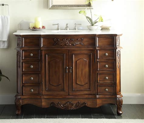 old fashioned bathroom vanity adelina 48 inch old fashioned antique look bathroom vanity