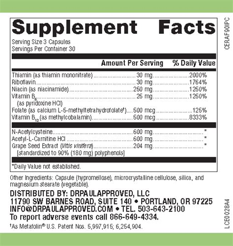 Mthfr Detox Symptoms by Drpaulapproved Mthfr Brain Detox Support