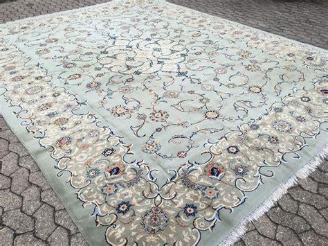 isfahan tappeti tappeto persiano isfahan di 13 m 178 verde pistacchio e