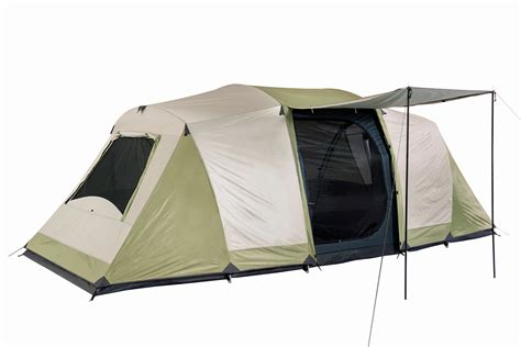 oztrail seascape 10p dome tent family cing 3 room 10