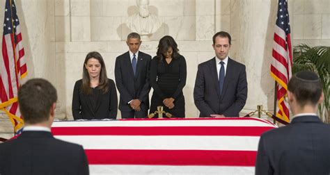 scalia family largely absent during obama visit politico