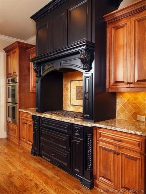 Pictures Of Kitchens Traditional Black Kitchen Cabinets Black And Brown Kitchen Cabinets
