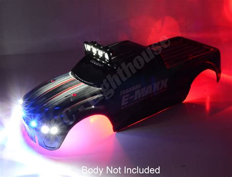 20 Traxxas E Maxx Deluxe Light Set Rc Lighthouse Traxxas Led Light Bar
