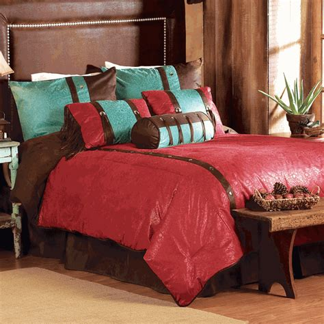 western red triple star comforter set western bedding king size cheyenne bed set lone western decor