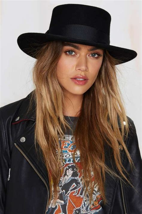 lack of color lack of color the muse boater wool hat hair hats