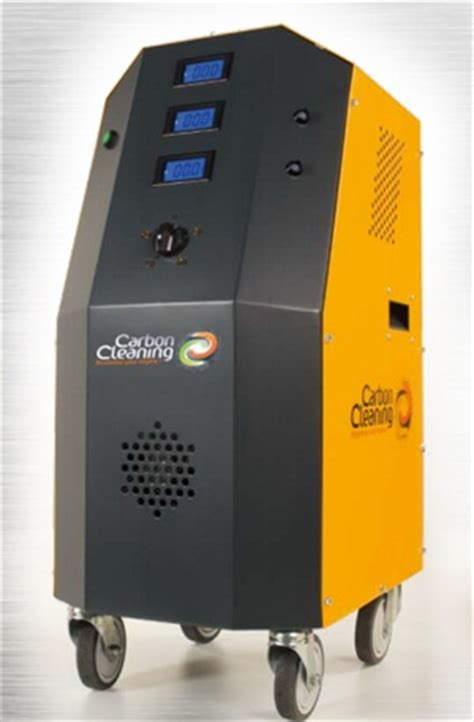 carbon cleaning machine  engines shine automotive service professional