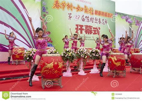 new year show in china new year festivities show editorial image image