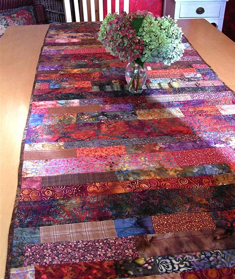 autumn hathaway fall quilted table runner