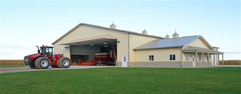 Barns With Apartments Floor Plans by Post Frame Steel Buildings Ag Equestrian Commercial
