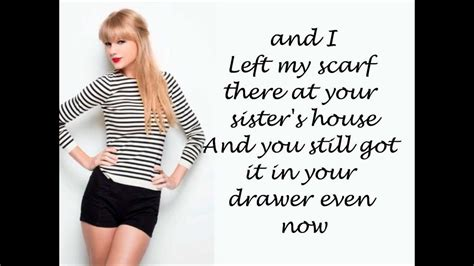 all too well taylor swift grammys hd taylor swift all too well lyrics on screen hd