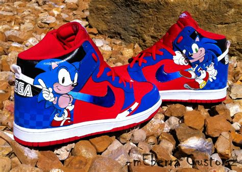 sonic shoes for sonic highz by meberra on deviantart
