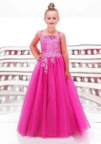 Sale Pink Lace Dress 3 Tahun Dress organza a line straps 11 year prom dresses flower