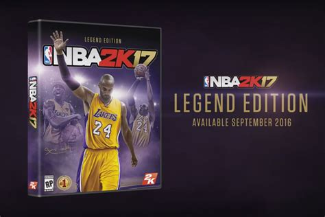 Nba 2k18 Legend Edition Ps4 Murah bryant to cover quot nba 2k17 legend edition