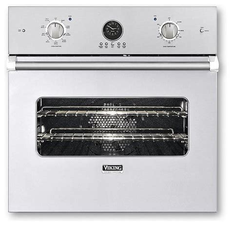 viking wall oven viking 27 quot single electric wall oven white veso5272wh