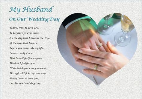 what to gift my on day husband on our wedding day personalised gift ebay