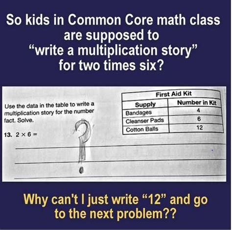 Common Core Math Meme - commoncore math problem that is really an ela exercise