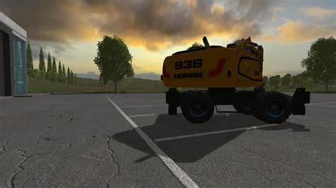 liebherr    fs  farming simulator   mod