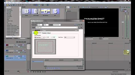 sony vegas pro basic tutorial sony vegas pro 9 0 basic tutorial 3 youtube