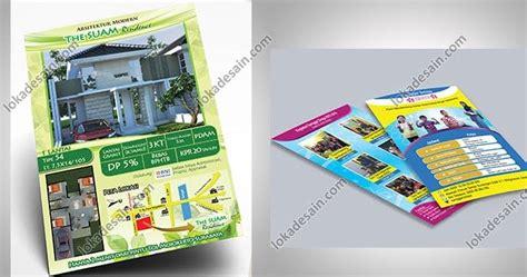 jasa desain brosur leaflet flyer katalog  menu