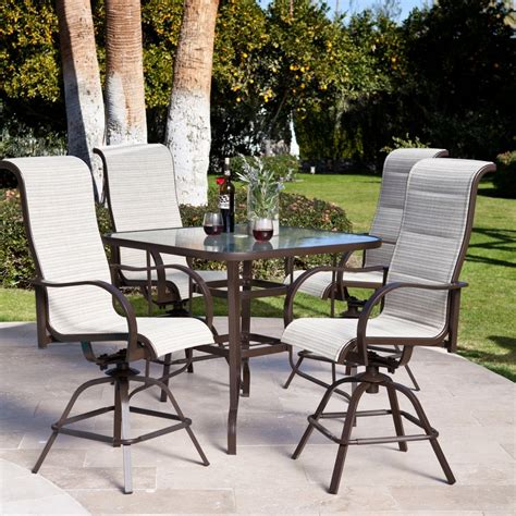 Patio Furniture Bar Set Creativeworks Home Decor Patio Furniture Sets