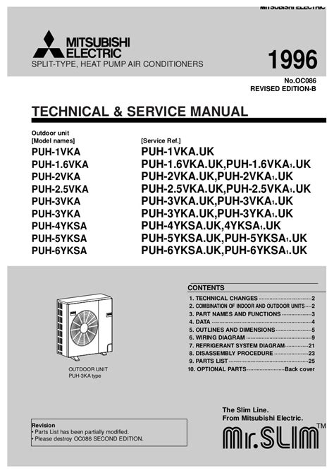 mitsubishi room air conditioner manual step right up appliance service manuals
