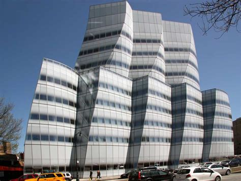 images of the iac building by frank gehry 2007 new york