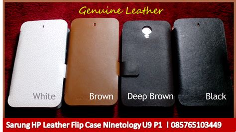 Jual Baterai Hp Ninetology Sarung Hp Leather Flip Ninetology U9 P1 Kulit Asli