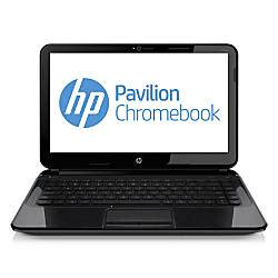 hp pavilion chromebook 14 c010us laptop computer with 14