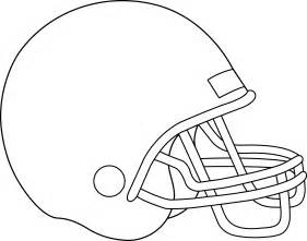 football helmet coloring page blank football helmet for coloring free clip