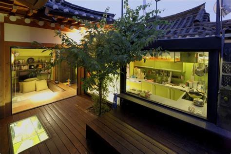 korean small house design seoul traditional house with modern italian style