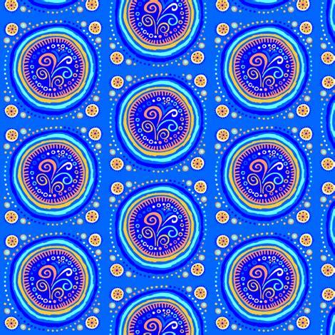 coralee: fancy circles fabric tallulahdahling spoonflower