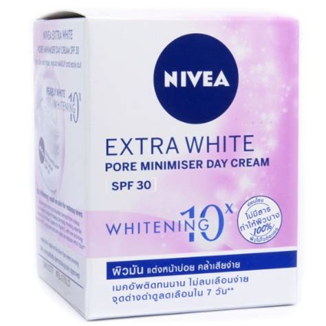 Whitening Day With Spf 30 And nivea whitening pore minimizer day spf 30 for skin 50ml in the uae see prices